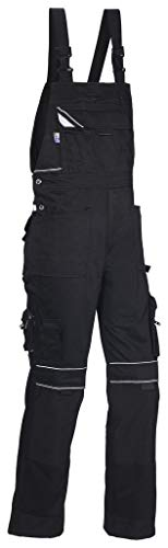 PKA Black Revolution Herren Latzhose mit Reflexapplikationen