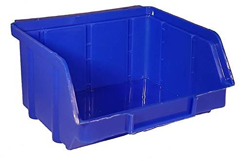 60x Stapelboxen Gr. 1 Stapelbox Lagerboxen Kiste Sichtlagerkasten Werkstatt