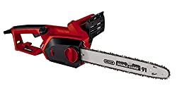 Einhell Electric Chainsaw GH-EC 2040 (2000 Watt, 375 mm leikkauspituus, Oregonin ketju ja laatu miekka, takapotku ja ketjun lukituspultti)