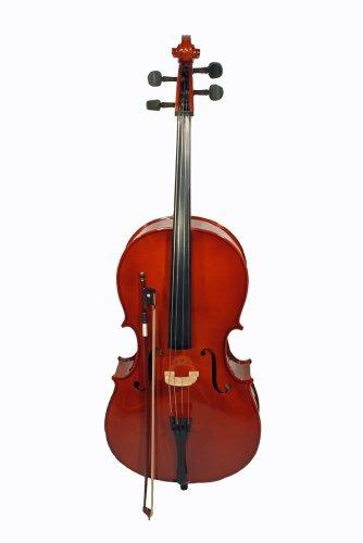 4/4 Cello inklusive Bogen und Tasche