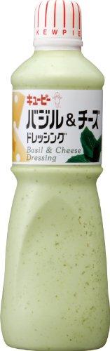 キユーピー キューピードレッシング バジル&チーズドレッシング 業務用 1L