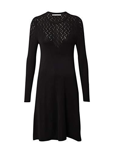 ONLY Damen ONLMOLLI Life L/S Dress KNT Kleid, Black, S