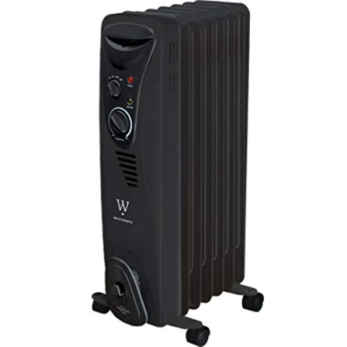Midea America Corp/Import International Trading CO LTD HO-0218HB WestPointe Black Radiator Heater
