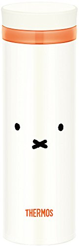 THERMOS(サーモス)『真空断熱ケータイマグミッフィーピュアホワイト(JNO-351BPWH)』