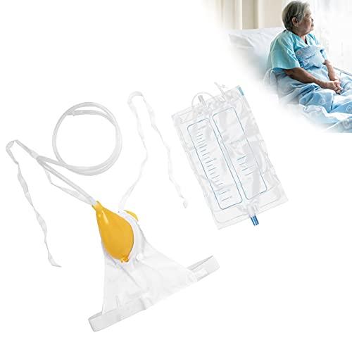 YOIM Copa para orina, diseño científico Copa para orina Femenina Segura y eficaz para Pacientes Enfermos y discapacitados para el hogar para Pacientes débiles
