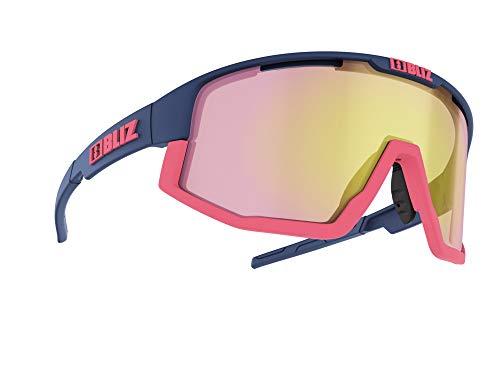 Bliz Fusion Sportbrille, Matte Dark Blue