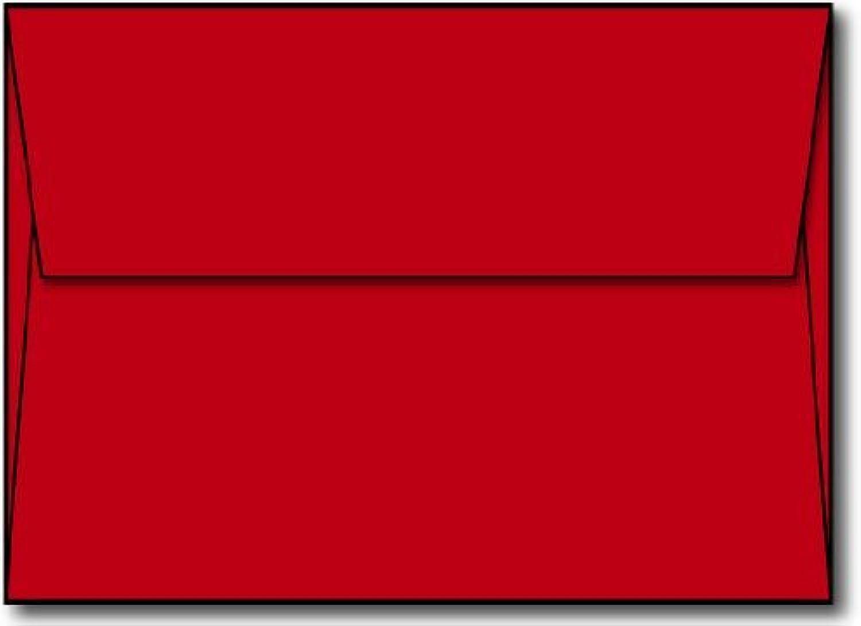 Rot A7 Umschläge (5 1 4 x 7 1 4) 4) 4) – 50 Umschläge – Desktop Publishing suppliestm Marke Briefumschläge B00WIF5208 | Spielen Sie Leidenschaft, spielen Sie die Ernte, spielen Sie die Welt  5518f9