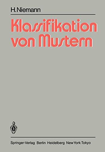 Klassifikation von Mustern (German Edition)