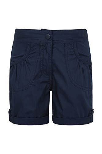 Mountain Warehouse Shore Shorts für Kinder - Kindershorts aus 100% Baumwolle, Kurze Atmungsaktive Hose, Strand Shorts - Lässige Shorts für Den Sommer & Urlaube Marineblau 13 Jahre