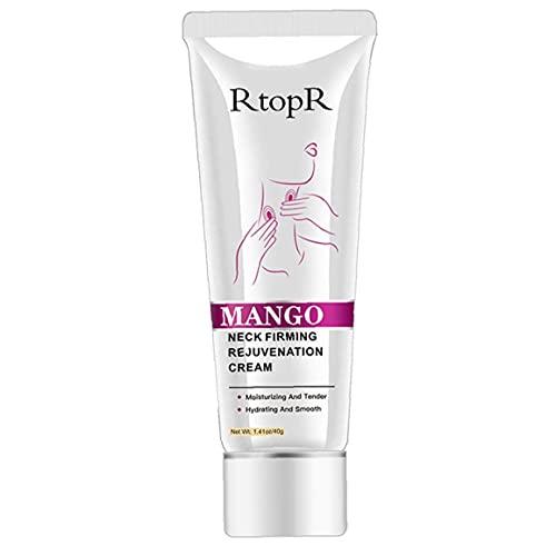 NIDONE Cuello reafirmante Crema Anti Arrugas del envejecimiento Hidratante Hidratante elevación de apriete del Cuello Crema hidratante 40G