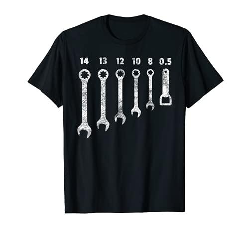 KFZ-Mechaniker Design I Schraubenschlüssel Flaschenöffner T-Shirt