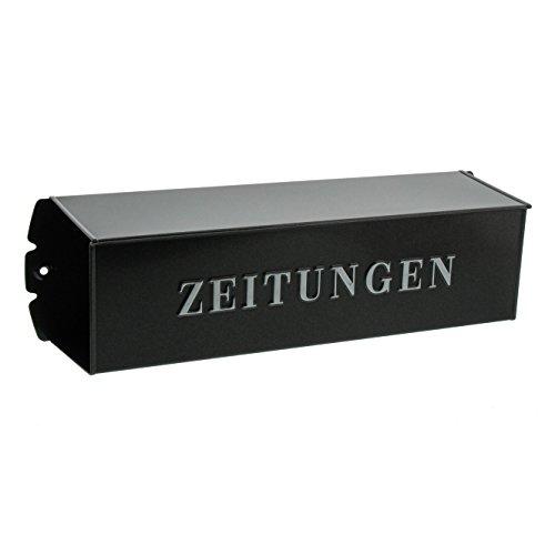BURG-WÄCHTER, Zeitungsbox mit geprägeter Schrift, Metall, 808 E, Eisen - 5