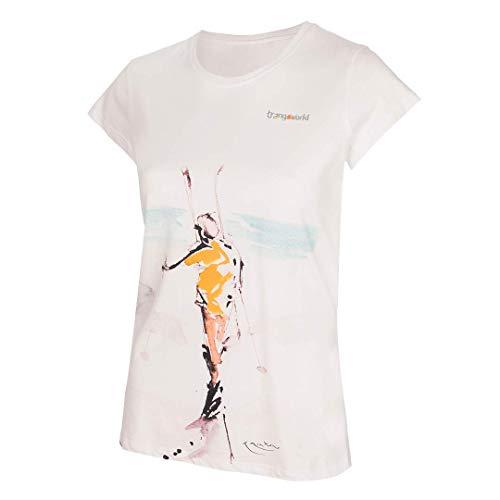 Trangoworld in Norway WM Short Tricot Femme, Blanc, S