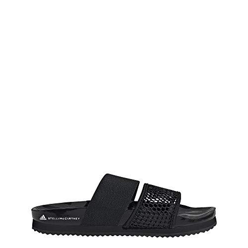 adidas by Stella McCartney Lette Slides Women's, Black, Size 9