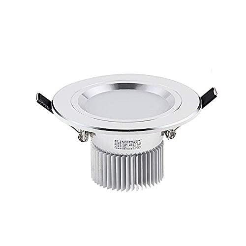 IP65 Ceiling Light Down Light Concave Light 3W Recessed Ceiling Light Recessed Bathroom Light 70-90mm Cut Out Warm White Downlight AC110V-240V 3000K RA80 300LM Replace 30W Incandescent Lamp Bedr