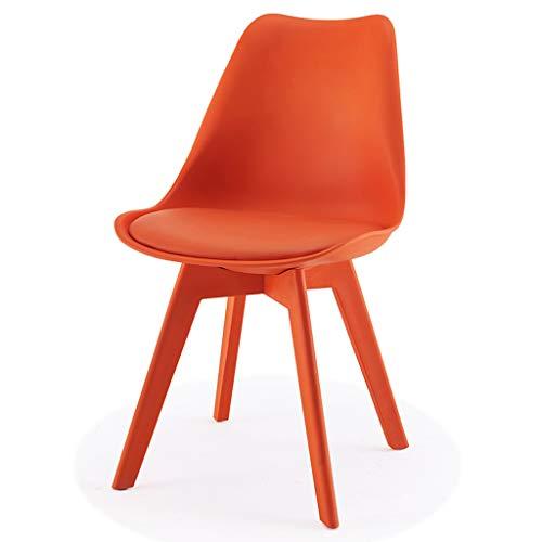 PLL Scandinavische vrijetijdsstoel modern minimalistische stoel creatieve kleur bureaustoel stoel