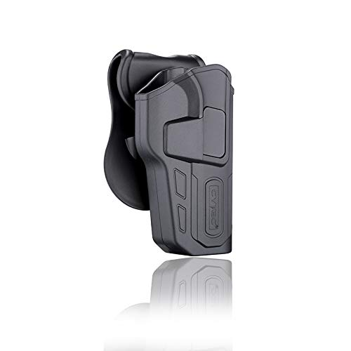 CYTAC Level II Tactical Security Gun Holster | Fits CZ 75 SP-01 Shadow 1 / R-Defender G3 Series | CY-75PISG3