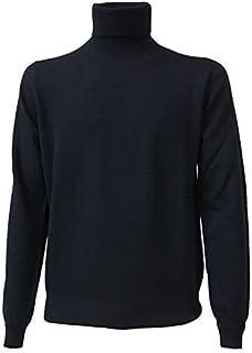 Della Ciana Maglia Uomo Collo Alto Art 18020 80% Lana 20% Cashmere Made in Italy