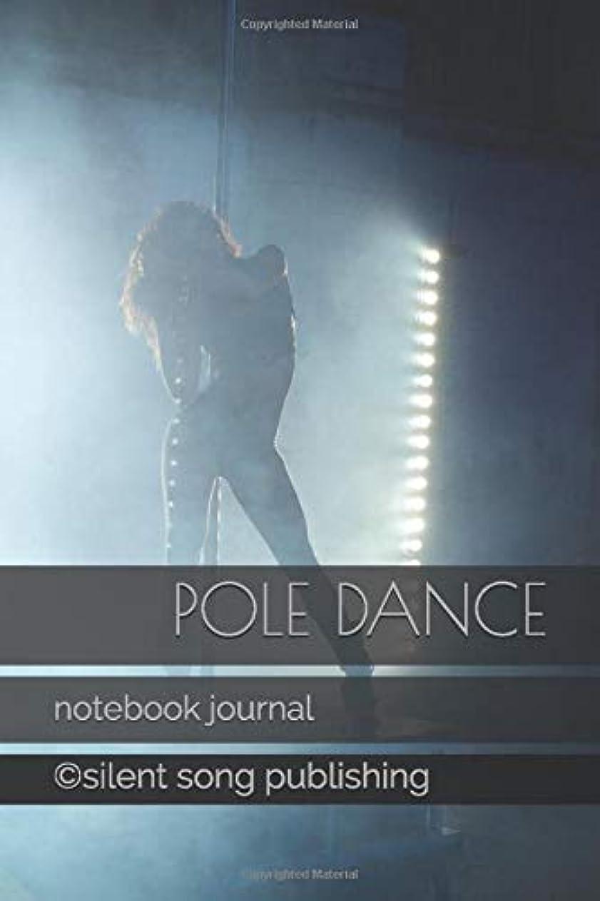 ピン事業内容購入Pole dance: notebook journal