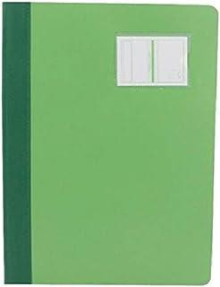 غلاف حفظ تقارير بلاستيكي بمشبك لتثبيت الاوراق من روكو طراز L320، مقاس ايه 4، لون اخضر