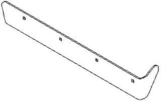 Boss Part # BAL13101-03 - UTV V-Plow 6.6FT V XT Drivers Side Formed Cutting Edge Half