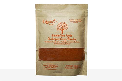 Kolhapur indiano Miscela di curry - Confezione richiudibile di fresco macinato gr. 100 g