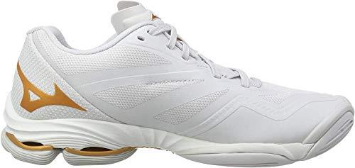 Mizuno Wave Lightning Z6, Zapatos de Voleibol para Mujer, Blanco (Nimbus...