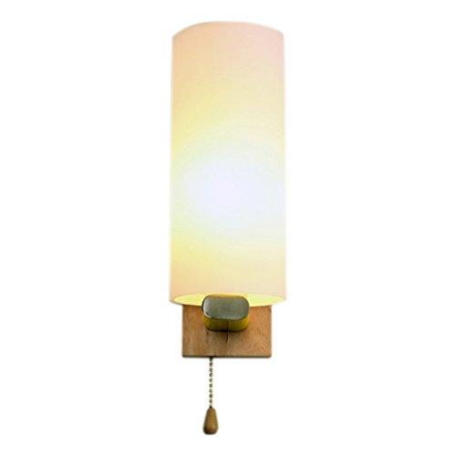 QIQIDEDIAN Moderne Minimaliste Lampe Chambre Chevet Mur Hôtel Restaurant Allée Applique