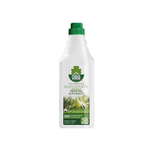 Plantaardige wasverzachter ECO klaverblad groen 1 l