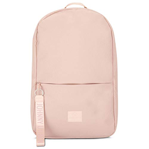 """Backpack Women & Men Rose JOHNNY URBAN""""Milo"""" Daypack of Recycled PET Bottles for University Office School & Everyday - Premium Water-Repellent & Laptop Compartment"""