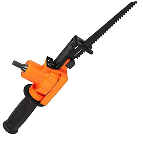 Eléctrica sierra de vaivén eléctrica motosierra alternativa de perforación para herramientas de corte/percusión Madera Metal rebanar herramienta de Orange