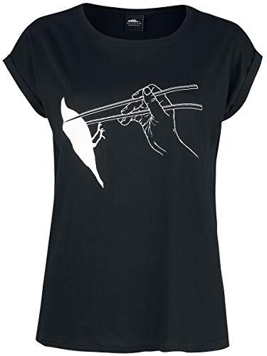 Atticus Mr. Chow Tee Frauen T-Shirt schwarz M 100% Baumwolle Punk, Rockwear, Streetwear