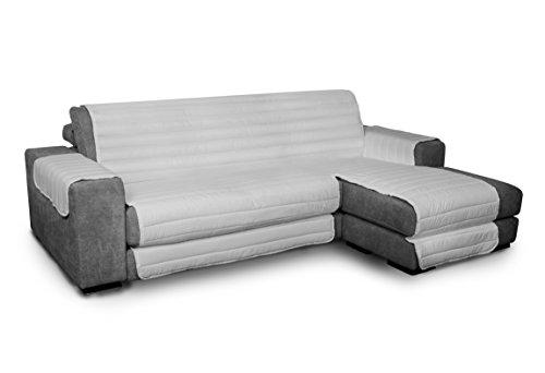 TRENDY CDDX-trendy penisola- Grigio – 190 Funda para sofà de Doble Cara, Resistente al Agua, Gris, 190 cm