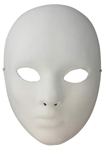 Artemio gezicht gips masker te versieren