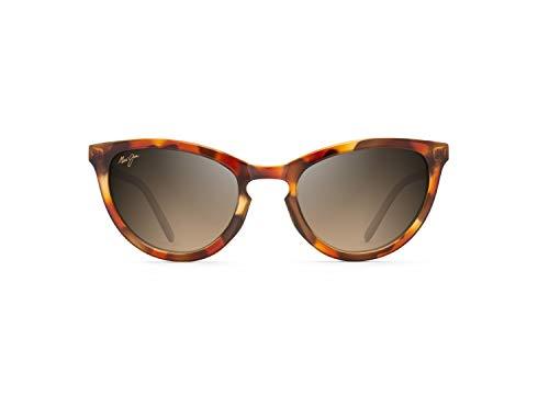 Maui Jim - Gafas de sol | Star Gazing B813-06F | Marco de ojo de gato polarizado,carey, con tecnología patentada PolarizedPlus2 HCL® Bronze