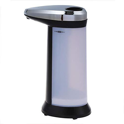 Neckip automatische zeepdispenser automatische zeepdispenser met infrarood sensor automatische sensor zeep en desinfecterende dispenser Touch-vrije keuken badkamer grijs automatische zeeppomp dispenser