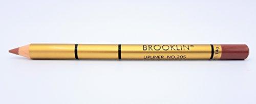 Brooklin Lipliner Bleistift Licht Kaffee 205 Wasserdicht Langlebig