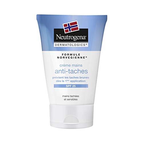 Neutrogena Formule Norvégienne Crème Mains Anti-tâches SPF 25 Mains Tâchées et Sensibles 50ml (lot de 2)