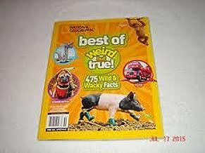 National Geographic Best Of Wierd But True (475 Wild & Wacky Facts) 2015
