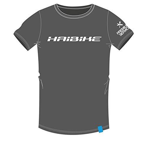 Haibike T-Shirt Work Unisex, Größe L, grau