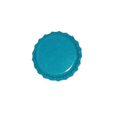 Beadaholique New Blue Crown Bottle Caps Craft Scrapbook Jewelry (50)