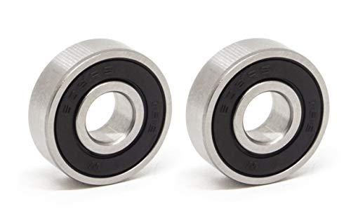 MissBirdler 2 Stück Rillenkugellager/Miniatur Kugellager 608 2RS / 2RS1 / 2RSR 8x22x7 mm für 3D-Printer, Prototyping DIY
