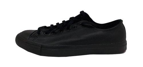 Converse Chuck Taylor All Star Mono Ox, Sneaker unisex adulto, Nero (Schwarz (Noir)), 35