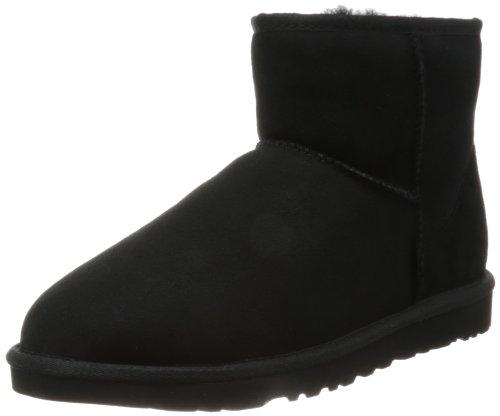 UGG Herren M Classic Mini Klassische Stiefel - Schwarz (BLACK BLK) - 43 EU