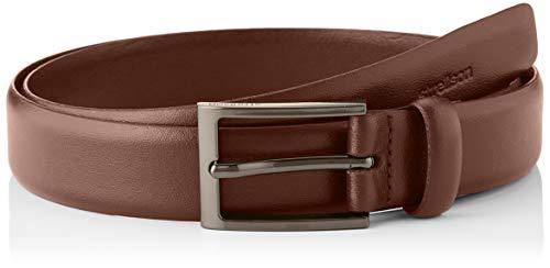 Strellson Premium Herren 3059 STRELLSON Belt 3 cm/NOS Gürtel, Braun (Cognac 220), 673 (Herstellergröße: 85)
