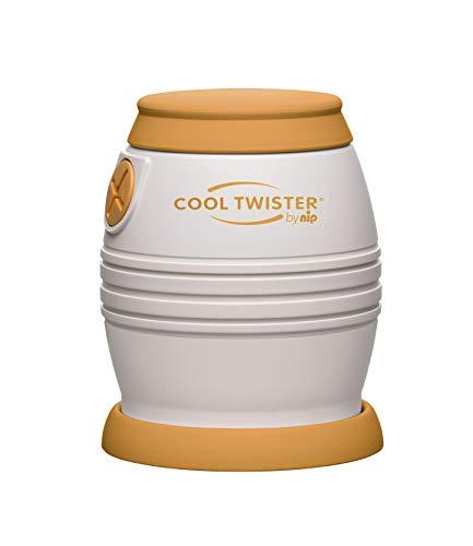 nip Fläschchenwasser-Abkühler Cool Twister Alt: Kühlt kochendes Wasser exakt auf 40, 50, 60 oder 70° ab, BPA-Frei, ab 0 Jahren