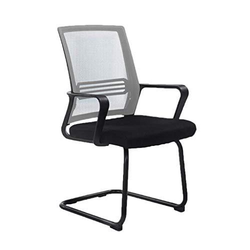 LLYU werkstoel, computerstoel, speelstoel, comfortabel, duurzaam, ademend, minimalistisch, modern grijs.