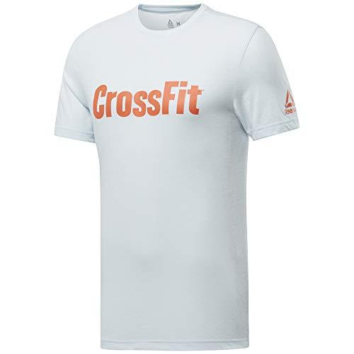 Reebok Crossfit Read tee Camiseta de Manga Corta Hombre