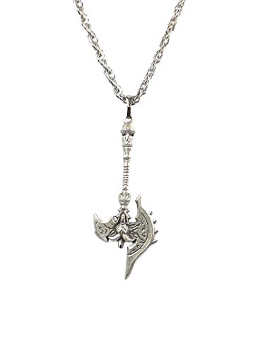 Gök-Türk Halskette für Herren Unisex mit Anhänger 'Axr' Ertugrul Dirilis (Muster 1)