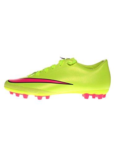 Nike Mercurial Victory V AG-R Fußballschuhe neon/pink/schwarz, Schuhgröße:EUR 44, Farbe:neon